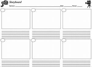8 storyboard template free word pdf psd formats for Interactive storyboard template