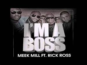 Meek Mill - Im a Boss bass boost - YouTube