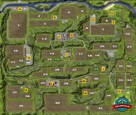 map  hagenstedt farming simulator  game guide