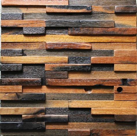 wood mosaic tile 3d wall pattern nwmt022 kitchen
