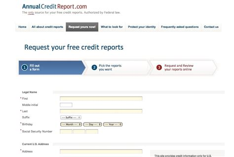 3 bureau credit report free credit report my fab finance