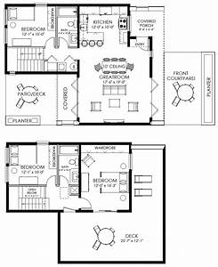 Contemporary small house plan for Small houseplans
