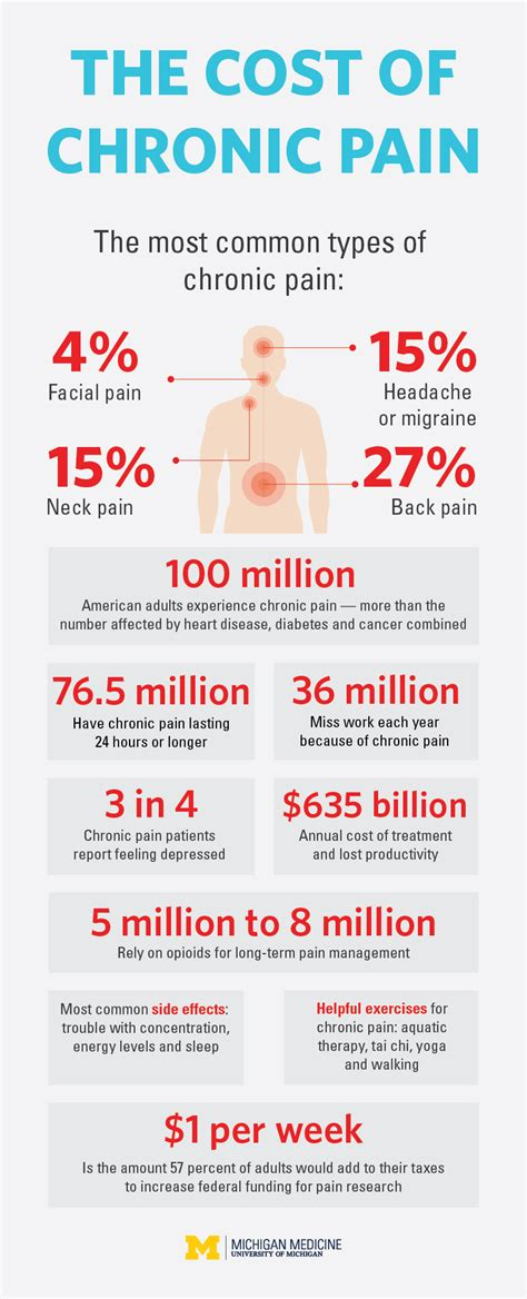 cost  chronic pain infographic
