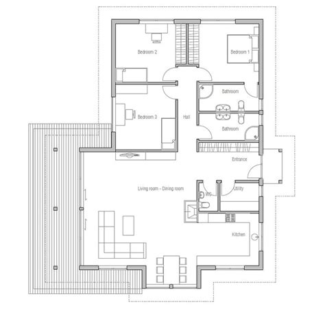 small house plan ch146 from concepthome floor plans