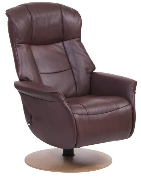 Slimline Recliners by Sitbest Slimline Chelsea Swivel Chair All Cotto Toledo