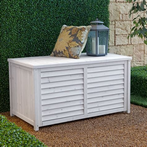 Coral Coast Outdoor Wood Deck Box  White Wash  Outdoor. Patio Design In The Philippines. Outdoor Furniture Sale Atlanta. Open Lattice Patio Cover Designs. How To Build A Patio Using Blocks. Cheap Patio Furniture Lexington Ky. Build Patio Roof Attached House. Small Backyard Ideas Nz. Build Patio Bench