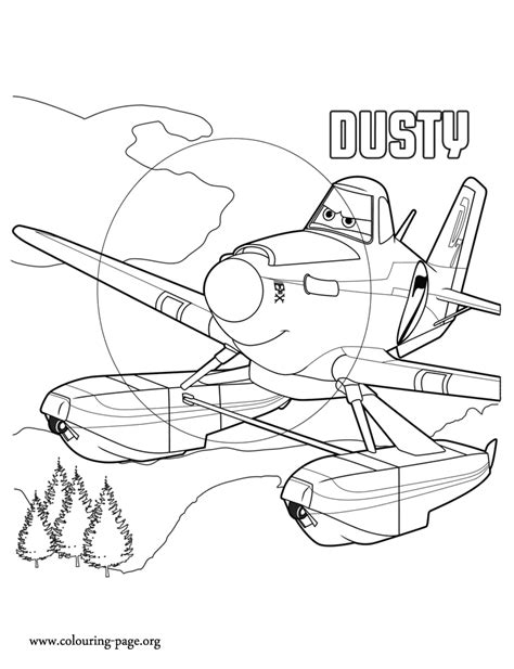 plane coloring pages planes 2 dusty a racing plane coloring page