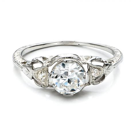 estate deco engagement ring 100905