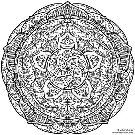 Coloring Krita by Krita Mandala 18 By Welshpixie On Deviantart