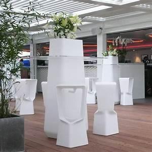 Mange Debout Jardin : mange debout choco plateau noir table design ~ Teatrodelosmanantiales.com Idées de Décoration
