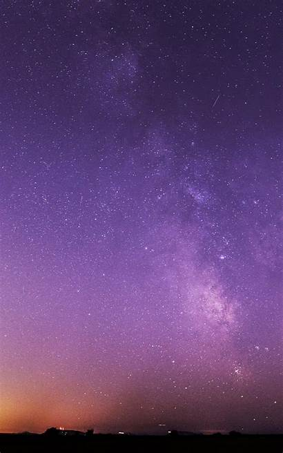 Wallpapers Purple Kindle Fire Iphone Night Sky