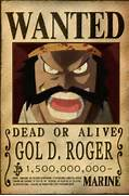 Gol D  Roger Bounty by...One Piece Shanks Crew Bounty