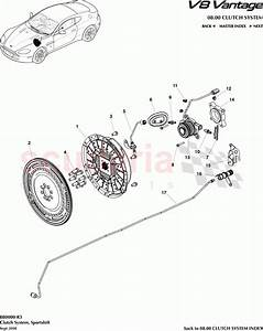 Aston Martin V8 Vantage Clutch System  Sportshift  Parts