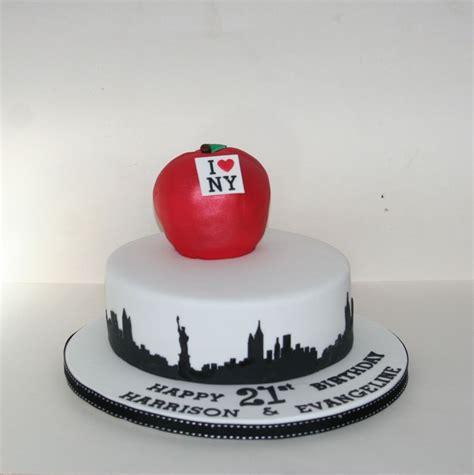 york theme cake cakes  york city   pastel