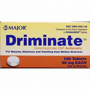 Dimenhydrinate Tablets Usp 50 Mg 100 Tablets Item 0431