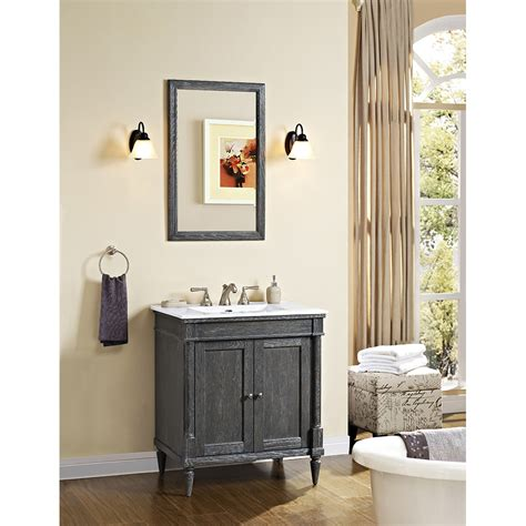 Rustic Modern Bathroom Vanities by Fairmont Designs Rustic Chic 30 Quot Vanity For Integrated Top