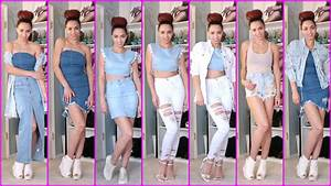 Trends Sommer 2017 : 2017 fashion trends 10 summer outfits with jeans trends outfits with denim fashion trends ~ Buech-reservation.com Haus und Dekorationen