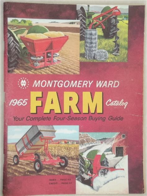 vintage farm catalogs lot montgomery wards books