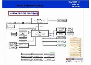 Asus X401a Repair Guide Service Manual Download