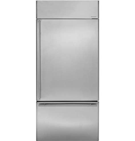 zicsnrrh ge monogram  built  bottom freezer refrigerator monogram appliances