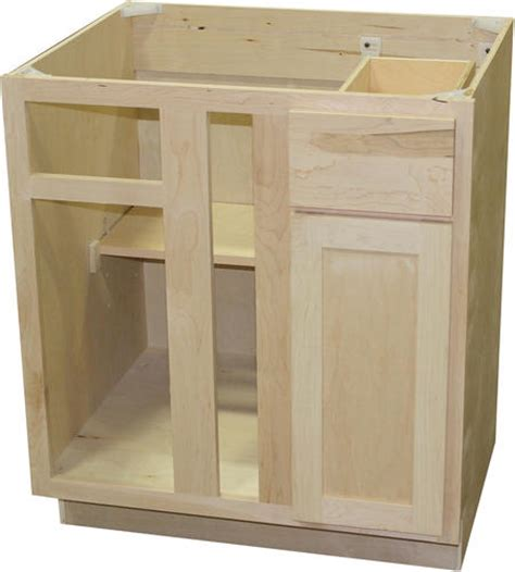 Corner Bathroom Cabinet Menards by Quality One 36 Quot X 34 1 2 Quot Unfinished Maple Blind Corner