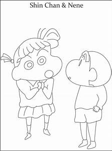 Shin Chan Coloring Pages - Coloring Home