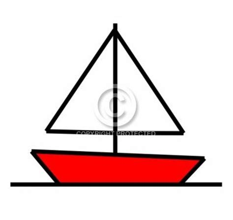 Simple Boat by Simple Boat Drawing Cheek Painting