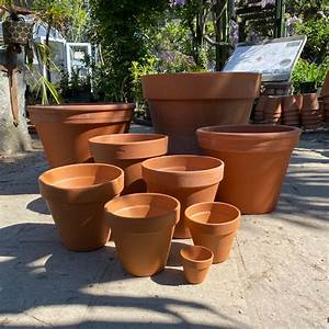 Traditional, Terracotta, Pots, -, 5, Sizes