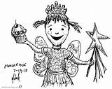 Pinkalicious Coloring Pages Printable sketch template