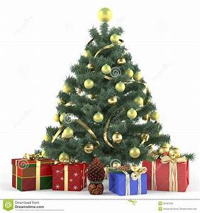 Christmas Tree Decorated With Toys Stock Photos - Image ...