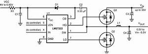 dc dc converter high side switch vs complete mosfet push With gan fet driver ics electronics and electrical engineering design