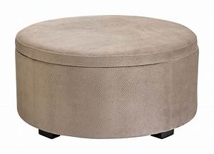 How to make a round storage ottoman for How to make a round ottoman with storage