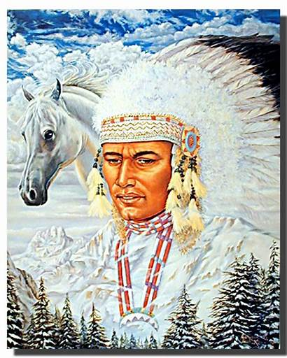Indian Horse Chief Poster Posters Joseph Native