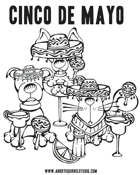 5 De Mayo Batalla De Puebla Para Colorear | Crowad