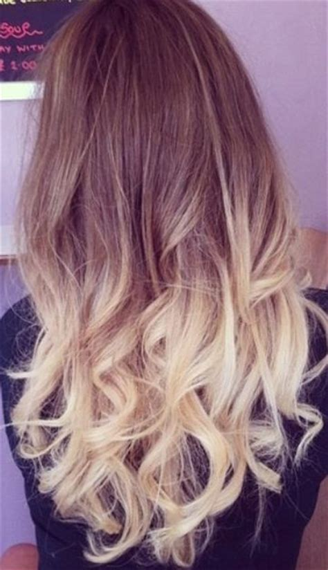 1000 Ideas About Blonde Dip Dyed Hair On Pinterest