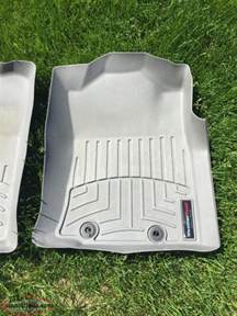weathertech front floor mats for tacoma paradise