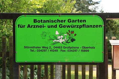 Botanischer Garten Leipzig Adresse by Botanische G 228 Rten In Sachsen