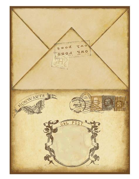 Harry Potter Envelope Template by Harry Potter Printable Invitation 2 Harry Potter