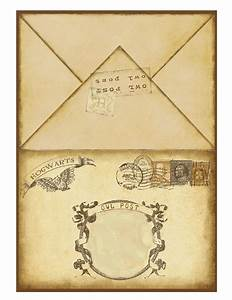 harry potter printable invitation 2 harry potter With harry potter envelope template