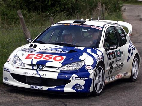 RBR-world 2015 - Peugeot 206 WRC '99 - Poland Rally Stage ...