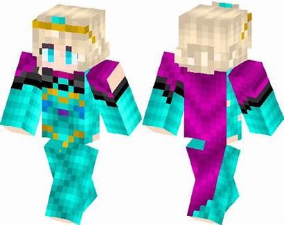 Skin Elsa Minecraft Coronation Skins 3d Hub