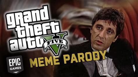 GTA V PC free on Epic games - Scarface PARODY - YouTube
