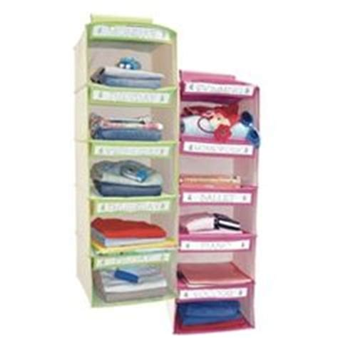 Childrenu0026#39;s Weekly Clothing Organizer. I may have to do this next time I have someone else watch ...