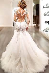 wedding dresses glamorous sleeve lace 2017 wedding dress tulle mermaid zipper button back 2017 wedding