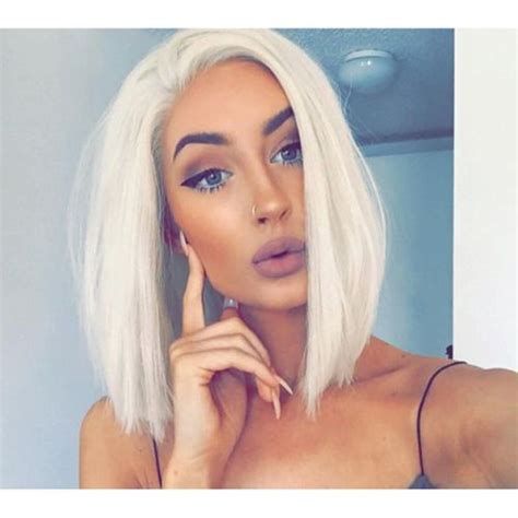 Real Platinum Hair by 17 Best Ideas About Platinum Bobs On