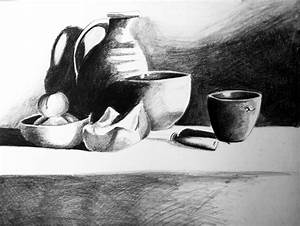 Still life in black and white by drancest on DeviantArt