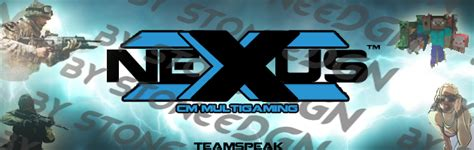 nexxus banner teamspeak 3 by stoneedgn on deviantart
