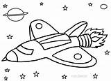 Rocket Coloring Ship Pages Printable Cool2bkids sketch template