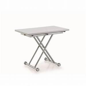 petite table relevable maison design wibliacom With tapis de course pas cher avec housse de canapé extensible microfibre