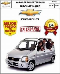 Chevrolet Suzuki Wagon R Manual Taller